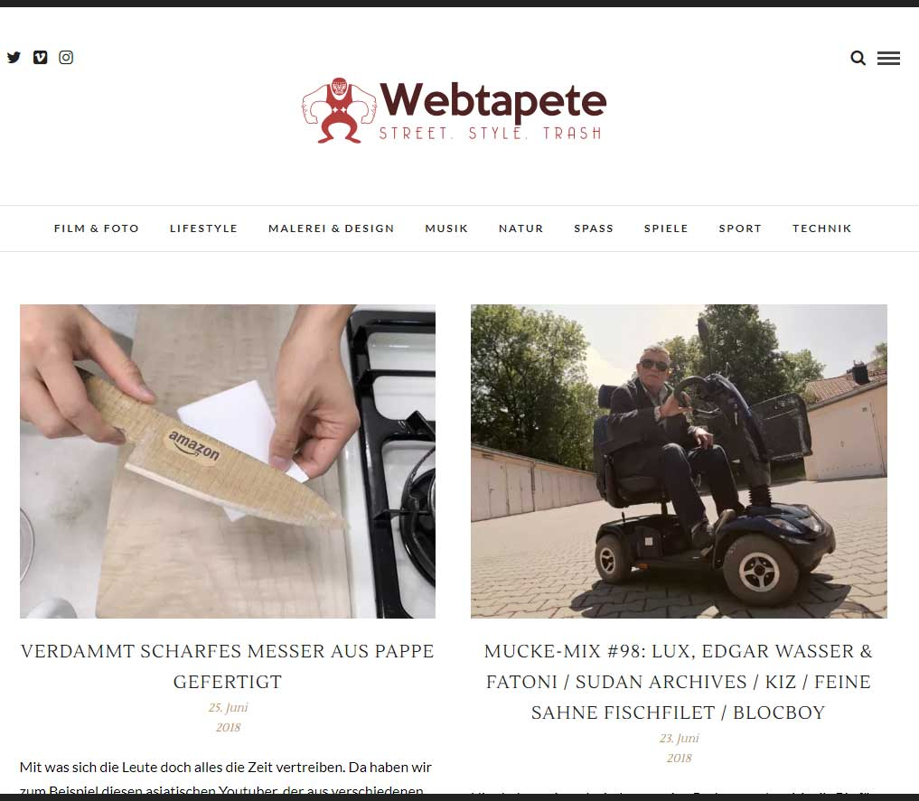 Webtapete.de